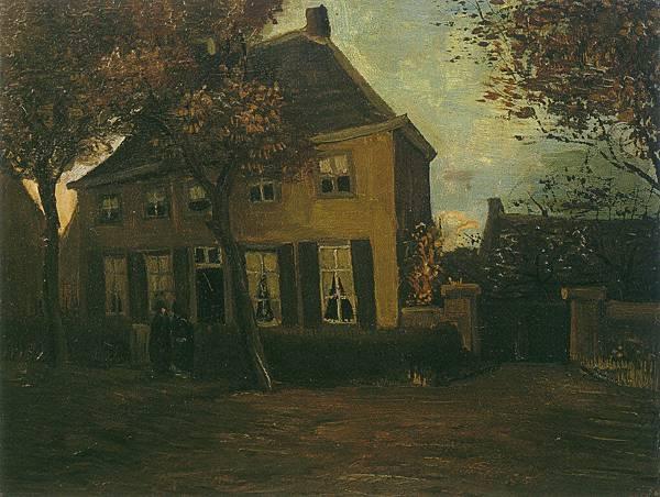 Vicarage at Nuenen aka The Vicarage at Nuenen - (Vincent van Gogh - 1885)