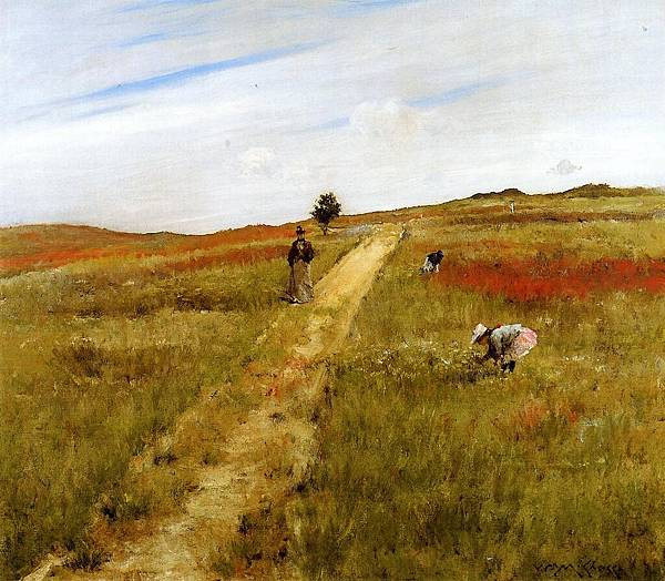 William Merritt Chase (1849-1916)-Chase_William_Merritt_Shinnecock_Hills_aka_Shinnecock_Hills_Autumn