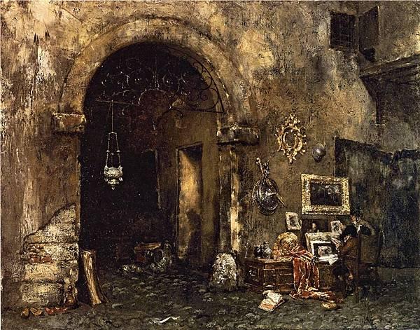 William Merritt Chase (1849-1916)-Chase_William_Merritt_The_Antiquary_Shop
