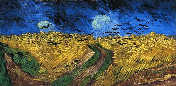 Wheatfield with Crows - (Vincent van Gogh - 1890)