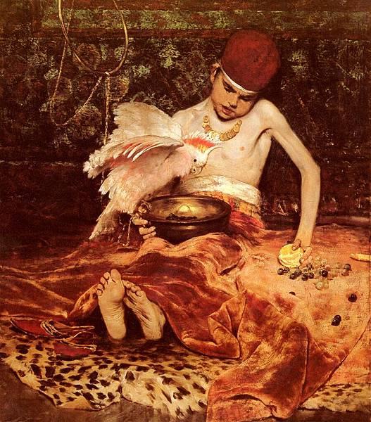 William Merritt Chase (1849-1916)-Chase_William_Merritt_Unexpected_Intrusion