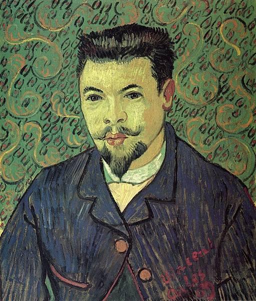 Portrait of Doctor Felix Rey - (Vincent van Gogh - 1889)
