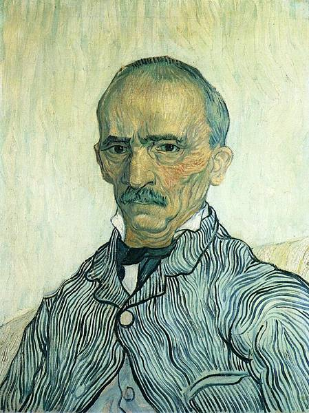 Portrait of Trabuc - (Vincent van Gogh - 1889)