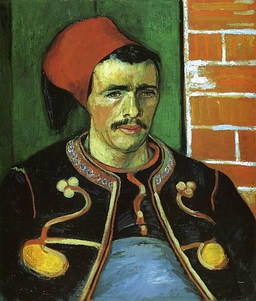 The Zouave - (Vincent van Gogh - 1888)