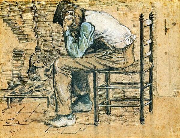 Worn Out - (Vincent van Gogh - 1881)