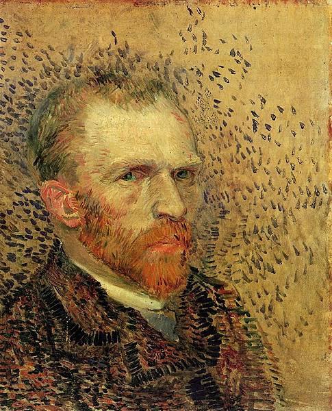 Self Portrait - (Vincent van Gogh - 1887)  2