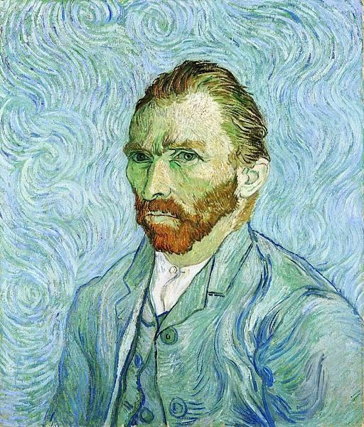 Self Portrait - (Vincent van Gogh - 1889)