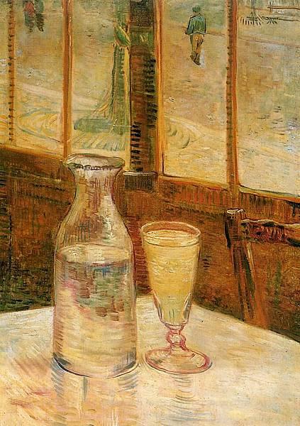 Still Life with Absinthe - (Vincent van Gogh - 1887)