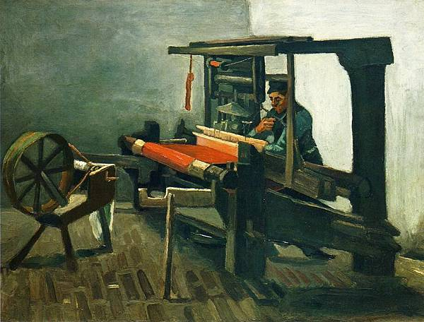 Weaver - (Vincent van Gogh - 1884)
