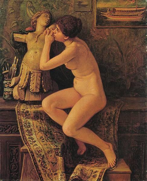 Elihu_Vedder_-_The_Venetian_Model_(1878)