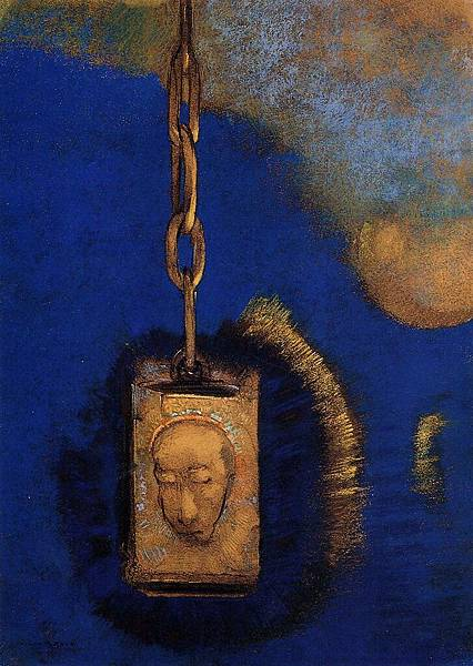 Odilon Redon (1840-1916) The Beacon - (Odilon Redon - 1883)