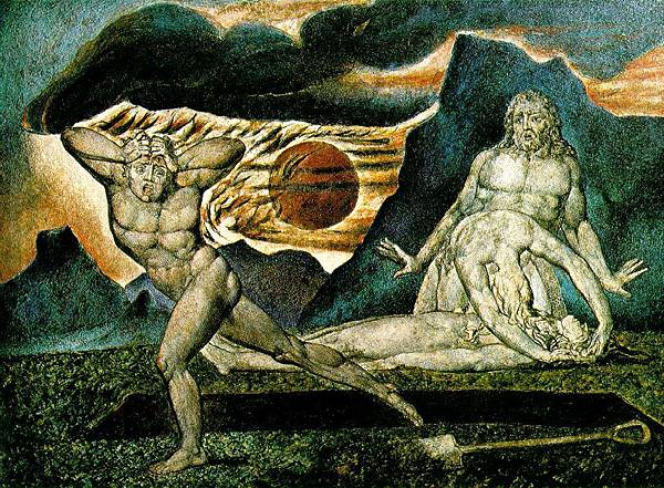 The Body of Abel Found by Adam and Eve c.1825