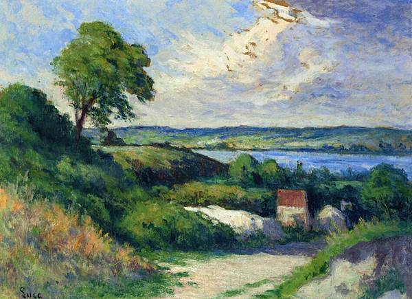 Landscape at Collettes - (Maximilien Luce - circa 1922)