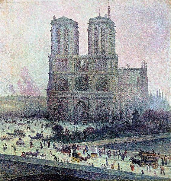 Notre Dame - (Maximilien Luce - 1900-1901)