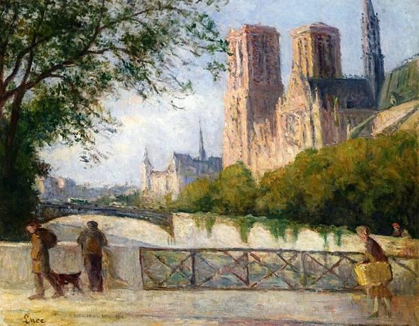 Notre Dame, Paris - (Maximilien Luce - 1901-1904)