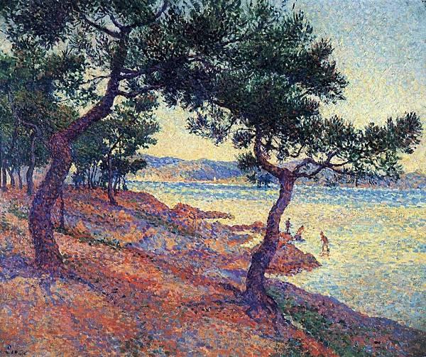 Saint Tropez, Les Canoubiers - (Maximilien Luce - 1895-1897)