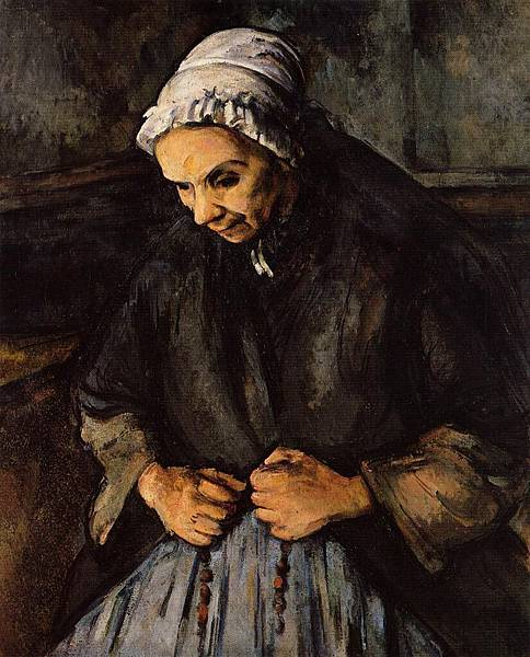 Cezanne, Paul  - An Old Woman with a Rosary