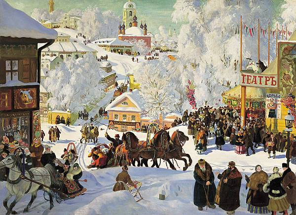Boris Kustodiev (1878-1927)-Maslenitsa_kustodiev