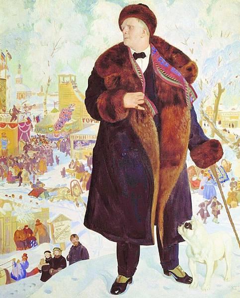 boris-kustodiev-portrait-of-fyodor-shalyapin-1922