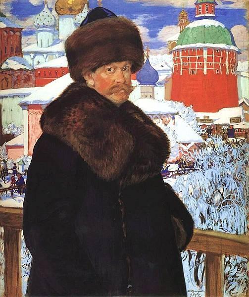 boris-kustodiev-self-portrait-1912