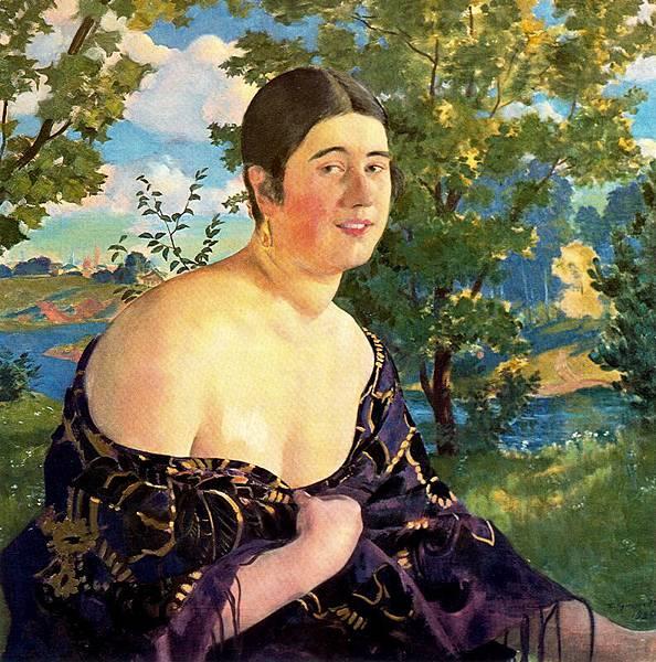 Boris Kustodiev (1878-1927)-,jhkhm
