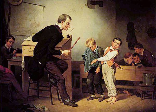 The Two Culprits - (Francis William Edmonds - 1850)