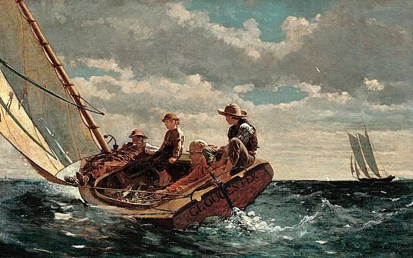 Breezing Up (A Fair Wind), 1873–76
