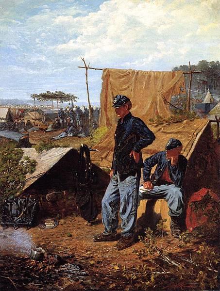 Winslow Homer (1836-1910)-Homer_Winslow_Home_Sweet_Home