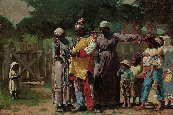 Winslow Homer (1836-1910)-Homer_Winslow_The_Carnival_aka_Dressing_for_the_Carnival