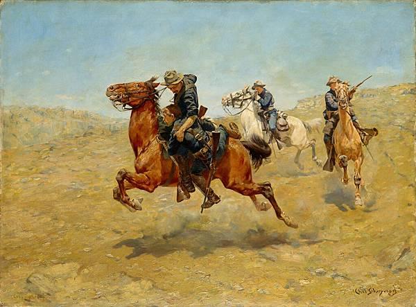 Charles Schreyvogel (1861–1912) My Bunkie