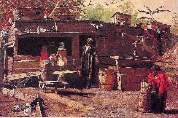 Winslow Homer (1836-1910)-Uncle_Ned_at_Home-1875