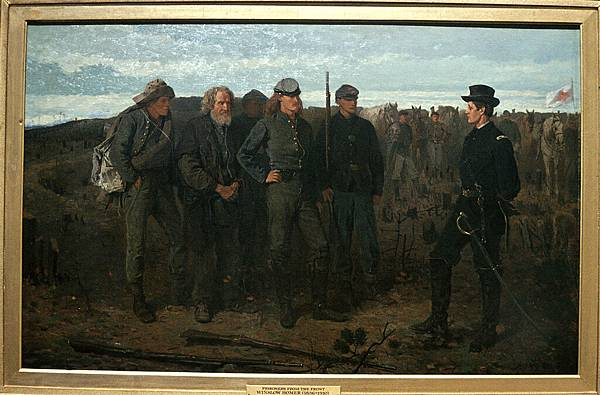 Winslow Homer (1836-1910)-Winslow Homer--Prisoners from the Front 1866