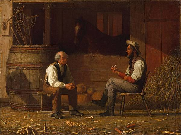 Enoch Wood Perry (1831–1915) Talking it Over