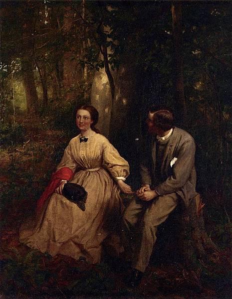 George Cochran Lambdin (1830–1896) The Courtship)