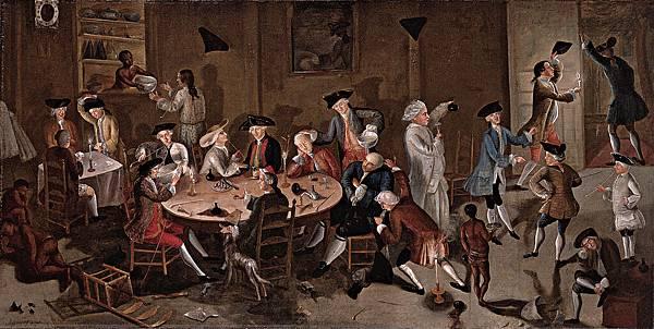 John Greenwood (1727–1792) Sea Captains Carousing in Surinam