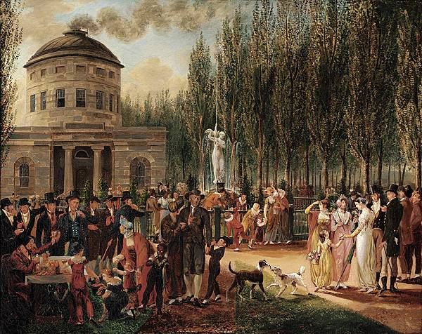 John Lewis Krimmel (1786–1821) Fourth of July in Centre Square