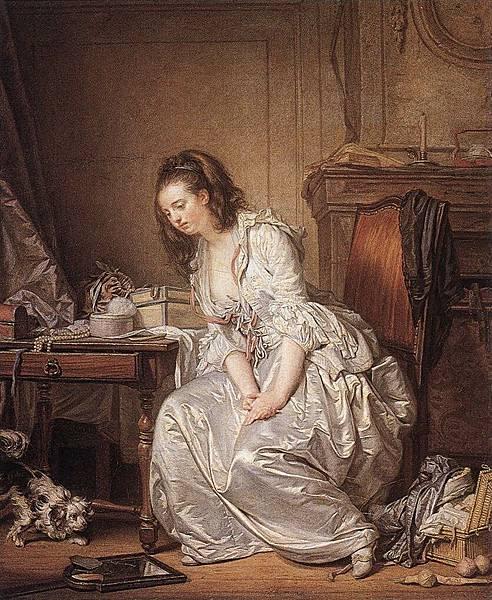 Jean Baptiste Greuze (1725-1805)-The_Broken_Mirror_WGA