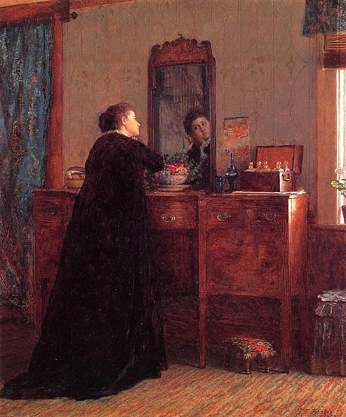 John Francis Murphy (1853-1921)  woman