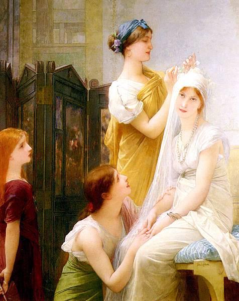 Jules Joseph Lefebvre (1836-1911) Lefebvre_Jules_Joseph_La_Fiancee