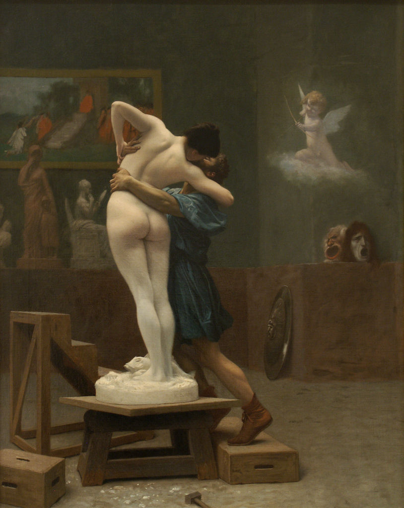 Gerome_Pygmalion_and_Galatea