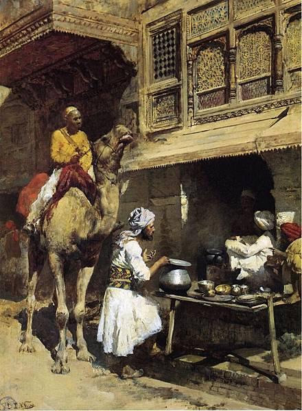 Edwin Lord Weeks (1849-1903) The Metalsmith's Shop
