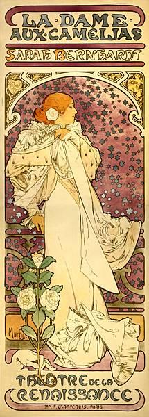 Alfons_Mucha_-_1896_-_La_Dame_aux_CamElias