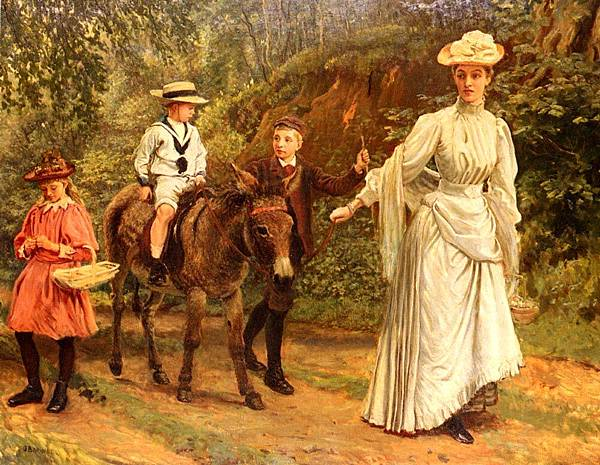 Barwell_John_A_Donkey_Ride_Along_A_Woodland_Path