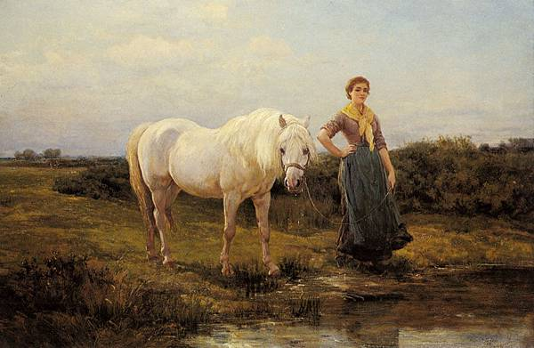 Hardy_Heywood_Noonday_Taking_A_Horse_To_Water