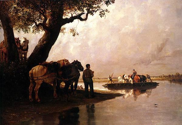 Jules Jacques Veyrassat (1808-1893)_Passe_Cheval_Pour_les_Chevaux_de