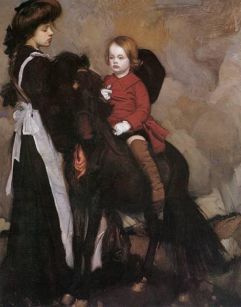 Lmabert_Equestrian_Portrait_of_a_Boy
