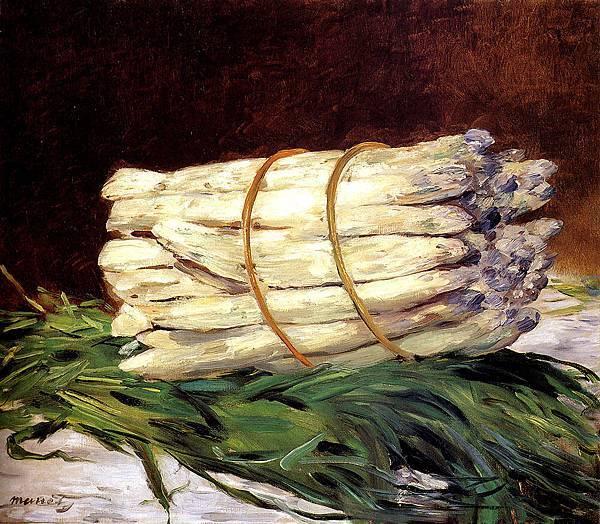 Edouard Manet (1832-1883)-Manet_Edouard_A_Bunch_Of_Asparagus