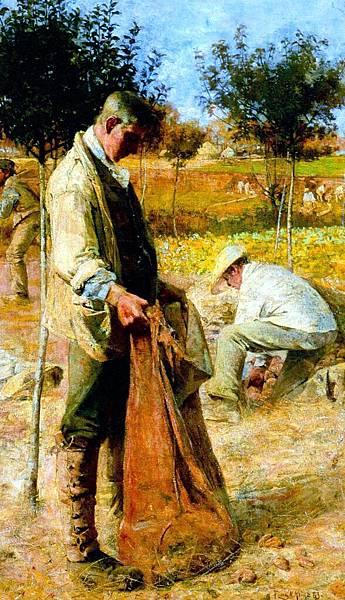 Flora MacDonald Reid (1879-1929)_The_Potato_Harvesters