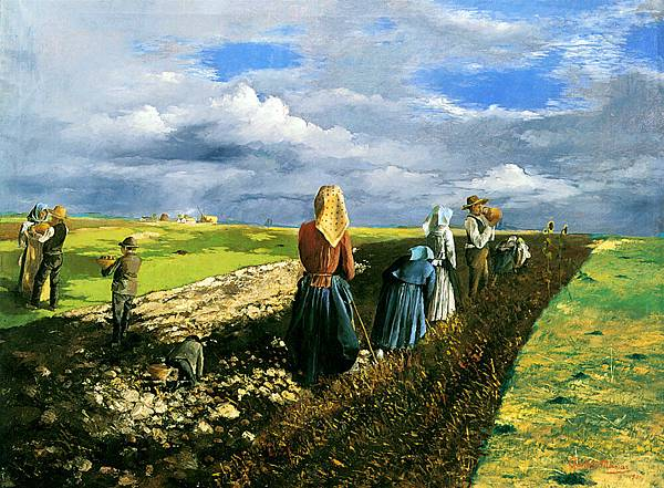 Janos Pentelei-Molnar (1878-1924)_The_Potato_Harvest