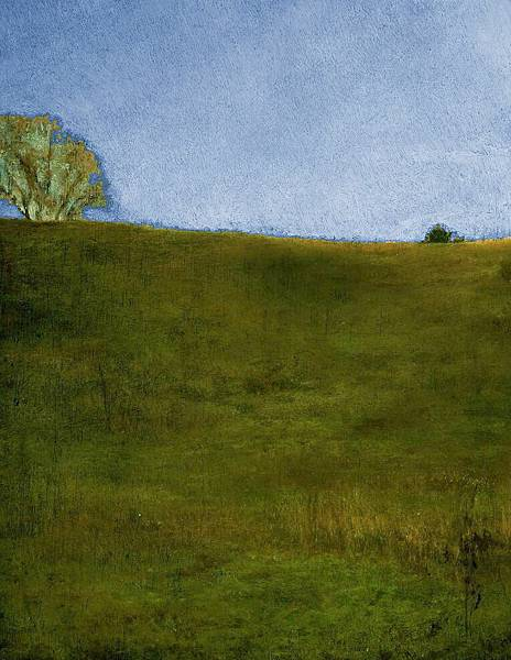 John La Farge (1835-1910) October. Hillside, Noonday, Glen Cove, Long Island